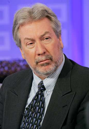 : Former Bollingbrook, Ill., police officer Drew Peterson waits to be interviewed on the NBC &#34;Today&#34; show in New York, Thursday Feb. 28, 2008. Peterson is continuing to deny any involvement in the disappearance of his fourth wife and the homicide of his third wife.  <span class=meta>(AP Photo&#47;Richard Drew)</span>